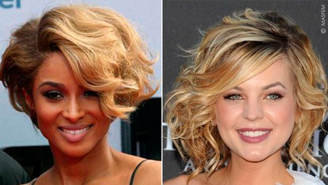 Причёски для вытянутого лица на средние волосы