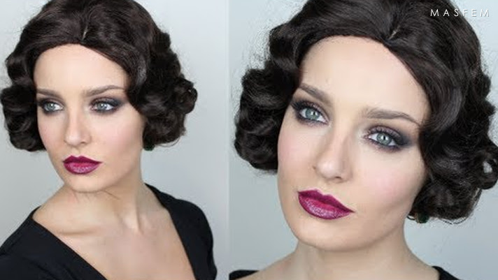 Great gatsby makeup
