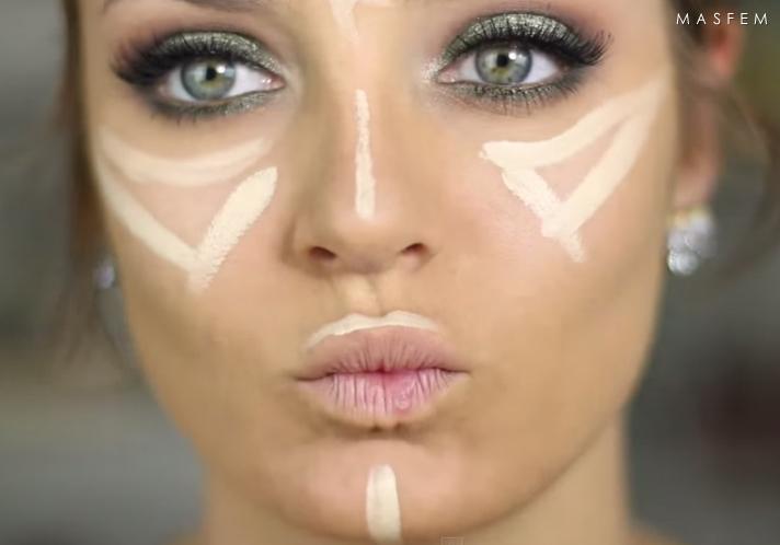 Как сделать красивый макияж на зеленые глаза