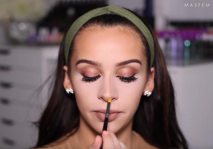 Как с помощью макияжа уменьшить нос