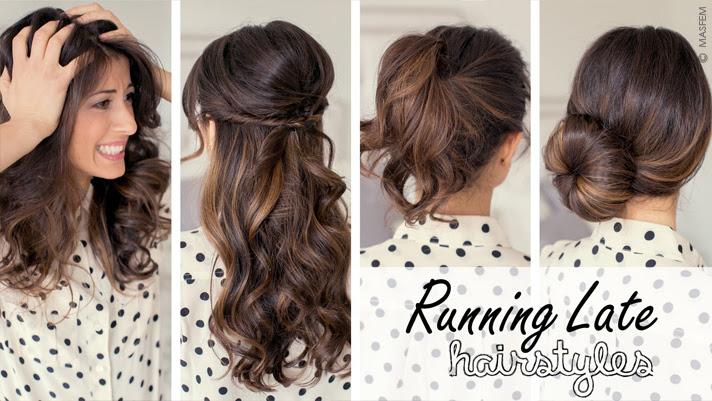 Идеи причёсок на каждый день для длинных волос