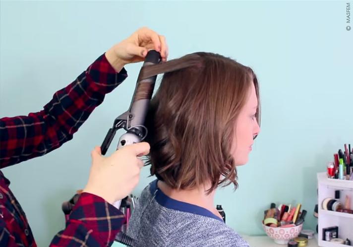 Как сделать кудряшки без плойки для коротких волос