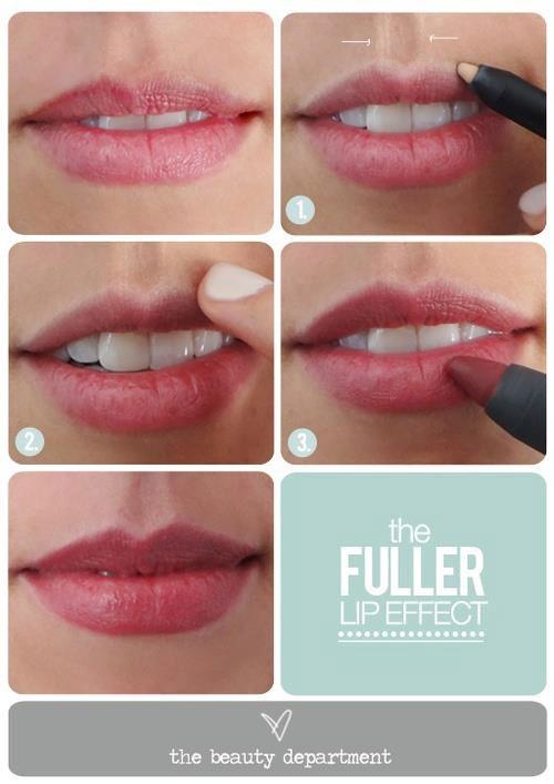 Как на сделать губы больше 21