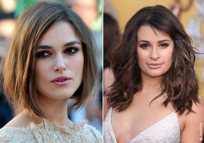 Причёски для квадратного типа лица