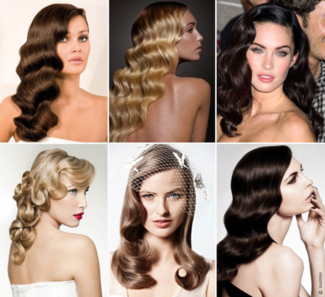 Как сделать волны на волосах в стиле 20 годов