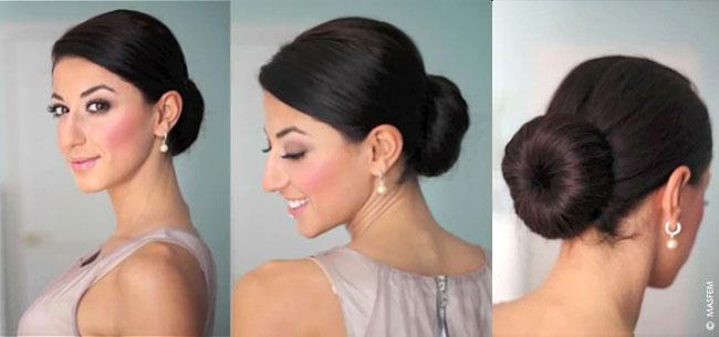 Прическа гулька на длинные и средние волосы - Твои локоны 17
