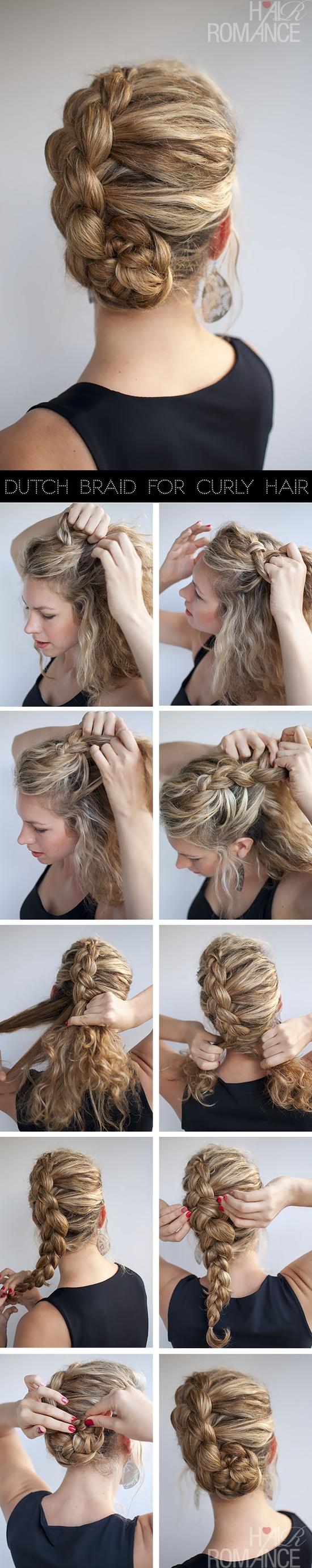 Плетём голландскую косу или французская коса наоборот